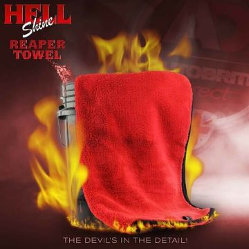 Autobrite Direct - 1000gsm Buffing Towel - Full Size Reaper 60 x 60cm